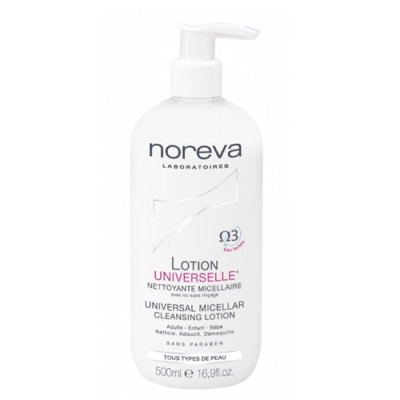Лосьон универсальный очищающий мицеллярный Noreva Cleansing 500мл: фото