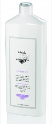 Шампунь успокаивающий для чувствительной кожи головы NOOK Difference Hair Care Leniderm Ph 5,5 1000 мл: фото