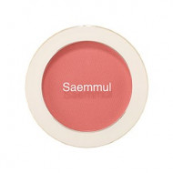 Румяна THE SAEM Saemmul Single Blusher CR02 Baby Coral 5гр: фото