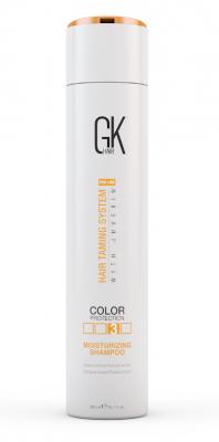 Шампунь увлажняющий с защитой цвета волос Global Keratin Moisturizing Shampoo Color Protection 300мл: фото