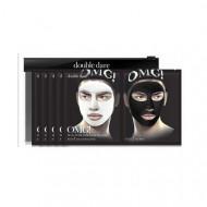 Двухкомпонентный комплекс мужских масок ДЕТОКС Double Dare OMG! Man In Black Facial Mask Kit 5 шт: фото