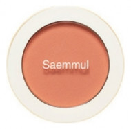 Румяна THE SAEM Saemmul Single Blusher OR04 Pumpkin Latte 5гр: фото
