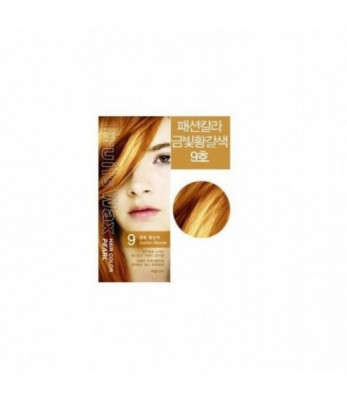Краска для волос на фруктовой основе Fruits Wax Pearl Hair Color #09 60мл*60гр: фото