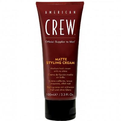 Крем для укладки средней фиксации без блеска American Crew MATTE STYLING CREAM 100мл: фото