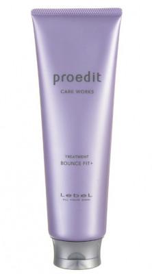 Маска для поврежденных волос Lebel PROEDIT HAIR TREATMENT BOUNCE FIT PLUS 250мл: фото