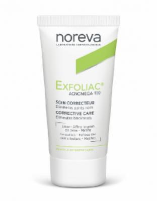 Крем для жирной, комбинированной кожи Noreva Exfoliac Акномега100 30мл: фото