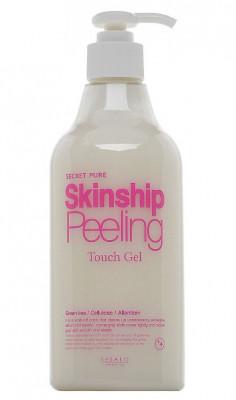 Пилинг-скатка увлажняющая для лица и тела Elizavecca Secret Pure Skinship Peeling Touch Gel 500мл: фото