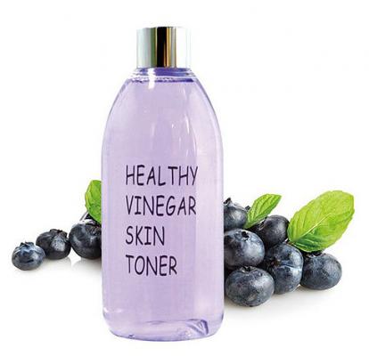 Тонер для лица ЧЕРНИКА REALSKIN Healthy vinegar skin toner Blueberry 300мл: фото