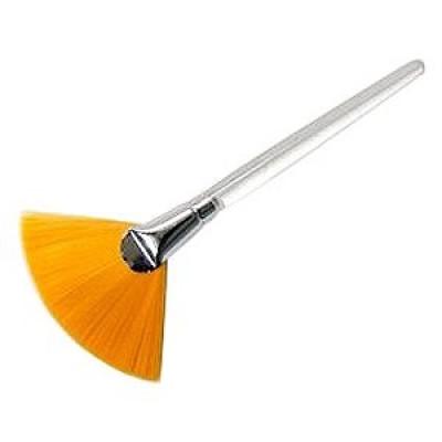 Кисточка для маски веерная жесткая Janssen Cosmetics: фото