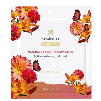 Маска антивозрастная для лица Sesderma BEAUTYTREATS Natural lifting therapy mask 25мл: фото