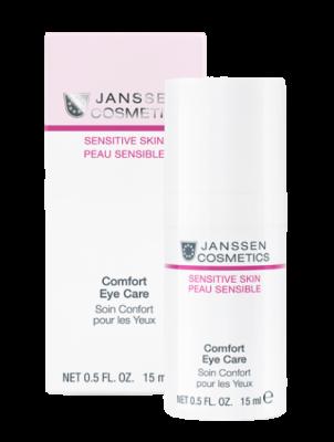 Крем для чувствительной кожи вокруг глаз JANSSEN COSMETICS Comfort Eye Care 15 мл: фото